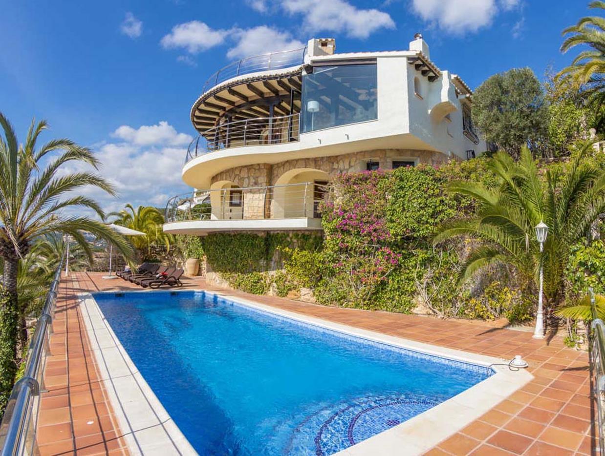 villa en moraira · el-portet 2950000€