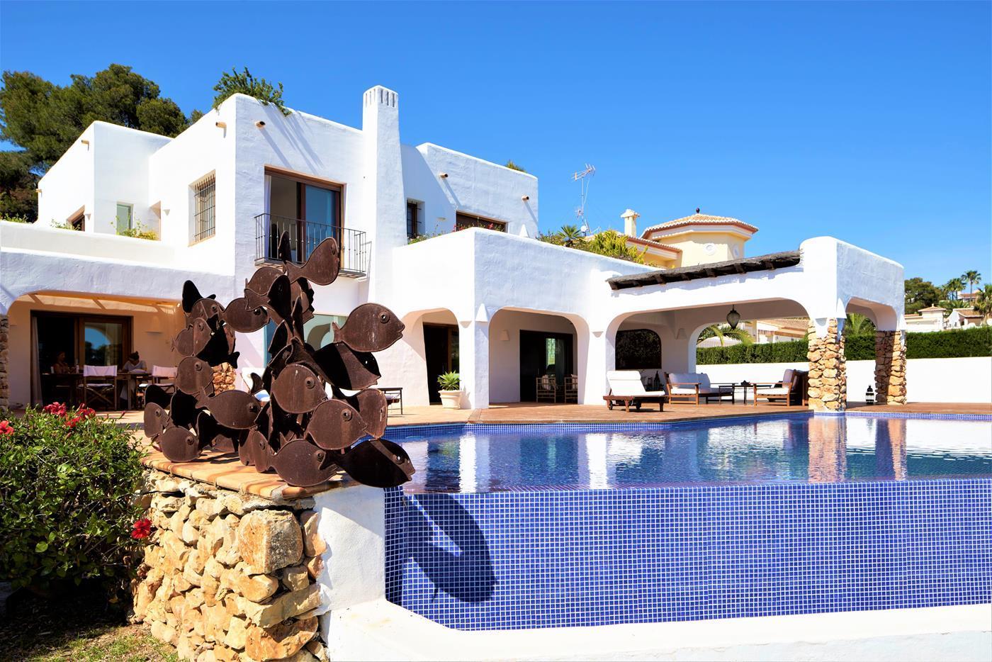 luxury-villa en moraira · portichol 3600000€