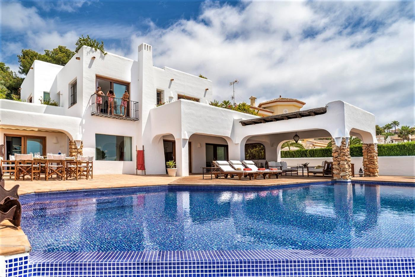 luxury-villa en moraira · portichol 3950000€