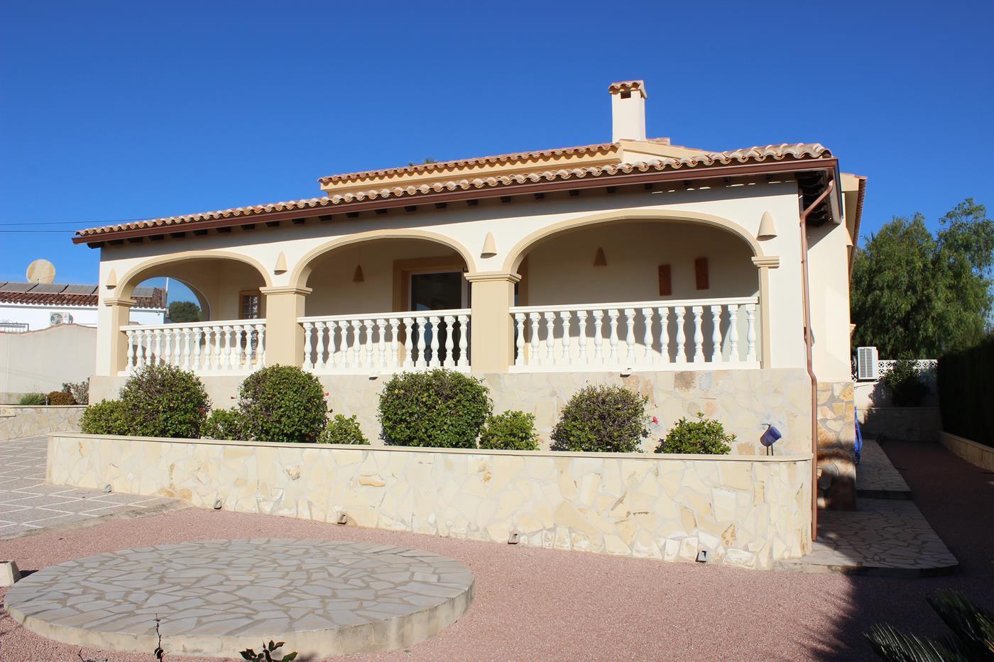 villa en moraira · sabatera 545000€
