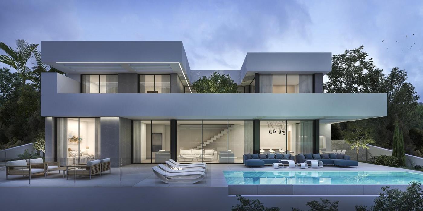 luxury-villa en moraira · benimeit 1800000€