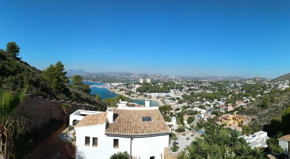villa en moraira · el-portet 750000€