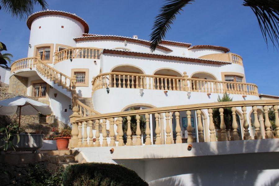 villa en moraira · benimeit 850000€