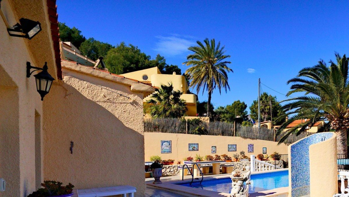 villa en calpe · cometa 349500€